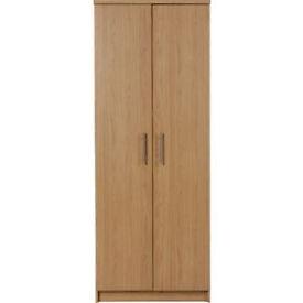 Normandy 2 Door Wardrobe - Oak Effect