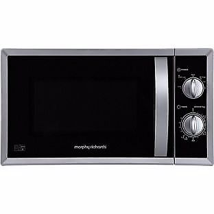 Morphy Richards Standard Microwave - Silver