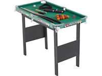 Chad Valley 3ft Snooker-Pool Game Table