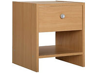 Seville Bedside Chest - Beech Effect