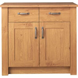 Ohio 2 Door 2 Drawer Sideboard - Oak Effect