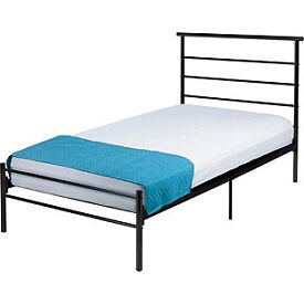 Avalon Single Bed Frame - Black