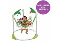 Fisher-Price Rainforest Jumperoo Baby Bouncer - GBP 45