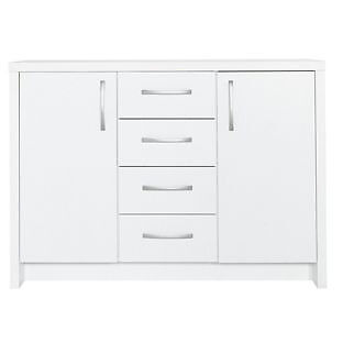Venice 2 Door 4 Drawer Sideboard - White