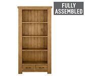 Collection Arizona 3 Shelf Bookcase - Solid Pine