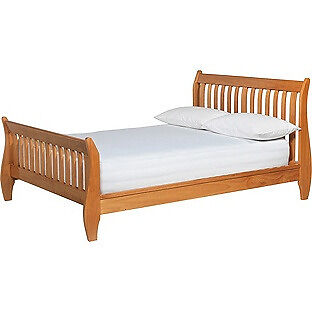 Heart of House Maldon Kingsize Bed Frame - Oak.