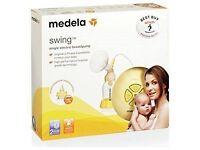 MEDELA SWING electric breast pump + calma