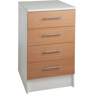 Athina 500mm Fitted Kitchen Drawer Unit - Beech Wood Effect