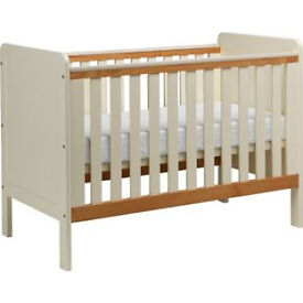 Classic Two-Tone Cot - Pine