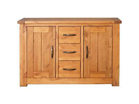 Harvard 2 Door 3 Drawer Sideboard - Solid Pine