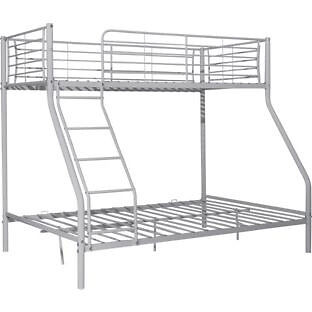 """Metal Triple Bunk Bed FrameSilverin Leeds, West YorkshireGumtree - Would like to trade this one. Stunning furniture item for your household. Condition is quite very good simply because it`s new as well as in original packaging. """"Part of the Metal Triple collection. Metal frame finish. Ladder can be positioned..."""
