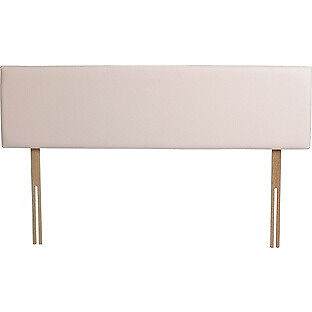 Airsprung Hollis Small Double Headboard - Cream.
