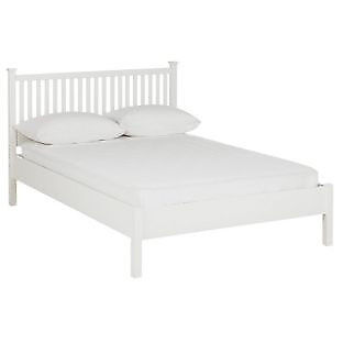 Adalia Kingsize Bed Frame - White