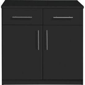 Anderson 2 Door 2 Drawer Sideboard - Black
