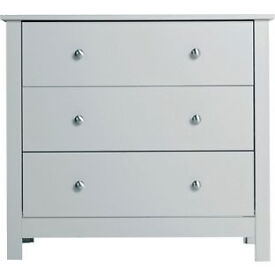 Osaka 3 Drawer Chest - Putty