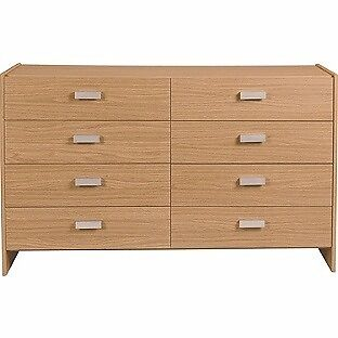 HOME New Capella 4 + 4 Drawer Chest - Oak Effect (EX-DISPLAY)