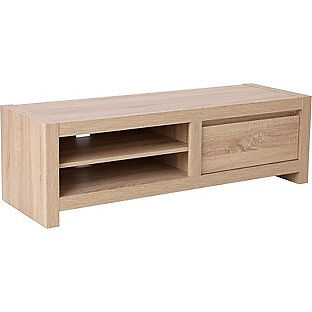 Sicily Large TV Unit - Oak Effect
