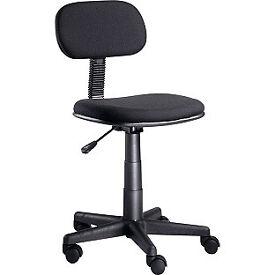 Gas Lift Office Chair - Black