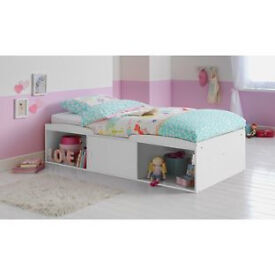 BRAND NEW WHITE CABIN BED