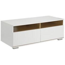 Hygena Modular TV Unit - White Oak