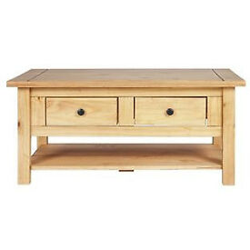 San Diego Coffee Table - Antique Solid Pine