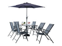 Milan 6 Seater Patio Set