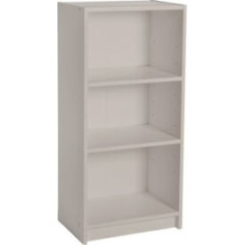 Maine Half Width Small Extra Deep Bookcase - Putty