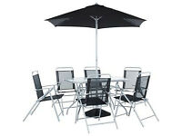 Pacific 6 Seater Patio Furniture Set
