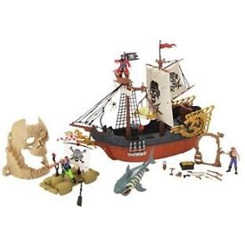 Chad valley pirate ship in good condition