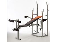 Wider weights bench and weights