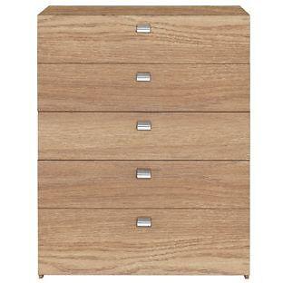Windermere 5 Drawer Chest - Oak
