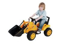 JCB Battery Operated Ride On Tractor - Never Been Used Age 3+