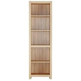 Sicily 4 Shelf Bookcase - Oak Effect