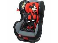 DISNEY MICKEY MOUSE Cosmo SP LUXE Recliner 0-4 Car Seat Group 0/1 NEW