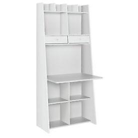 Auckland Wall Unit Desk - White