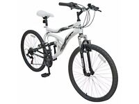 Hyper Dual Suspension 26in mens Mountain Bike New
