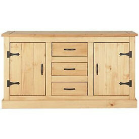San Diego 2 Door 3 Drawer Sideboard - Solid Pine