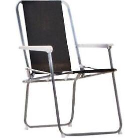 Folding Picnic Chair - Black