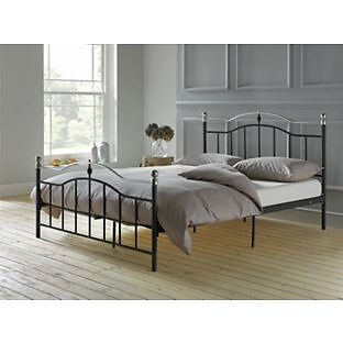Brynley Kingsize Bed Frame - Black.