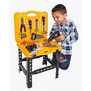 Jcb Folding Toy Workbench And Tools Toy Tool Set In