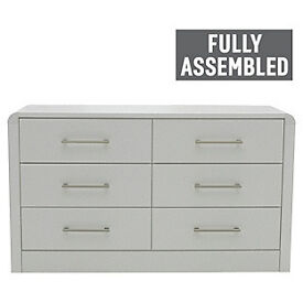 Heart of House Elford 6 Drawer Chest - White