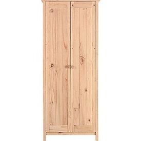 Scandinavia 2 Door Wardrobe - Pine