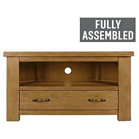 Arizona Corner TV Unit - Solid Pine.