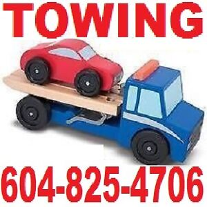 a-TOW TRUCK*TOWING*LONGER TOWS(604)825-4706 Vancouver-Chilliwack