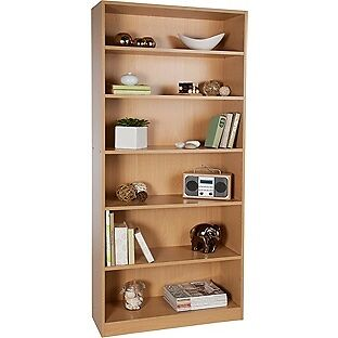 Argos Maine Tall And Wide Extra Deep Bookshelf Pine Effect Like New Only