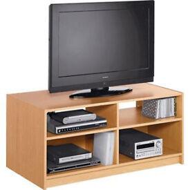 Maine Modular TV Unit - Beech Effect