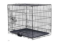 Large Dog/PET Crate H71 X L92 X D 63CMS FOLDABLE NEW UNUSED
