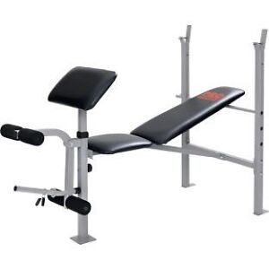 Weight Bench And Weights Buy Or Sell Sporting Goods Exercise In Kitchener Waterloo