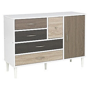 Hygena Birkdale 5 Drawer 1 Door Sideboard