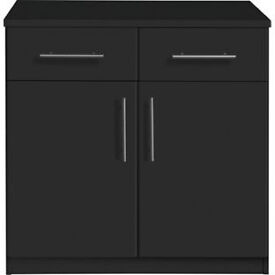 Anderson 2 Door 2 Drawer Sideboard - Black